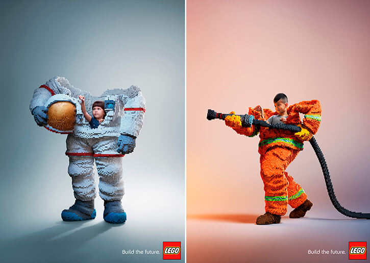 Build the Future LEGO