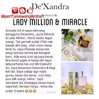 Testimoni Dexandra,Perfume dexandra,Dexandra