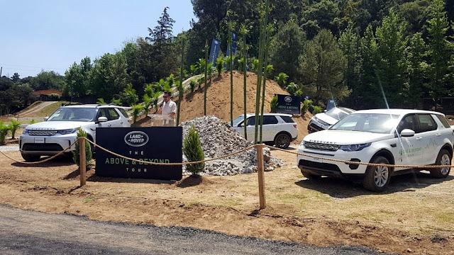 Jaguar y Land Rover encabezan el Gran Concurso Internacional de Elegancia en México