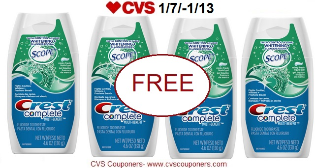 http://www.cvscouponers.com/2018/01/free-crest-complete-gel-toothpaste-at.html