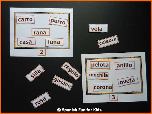Spanish Syllable Song and Games
