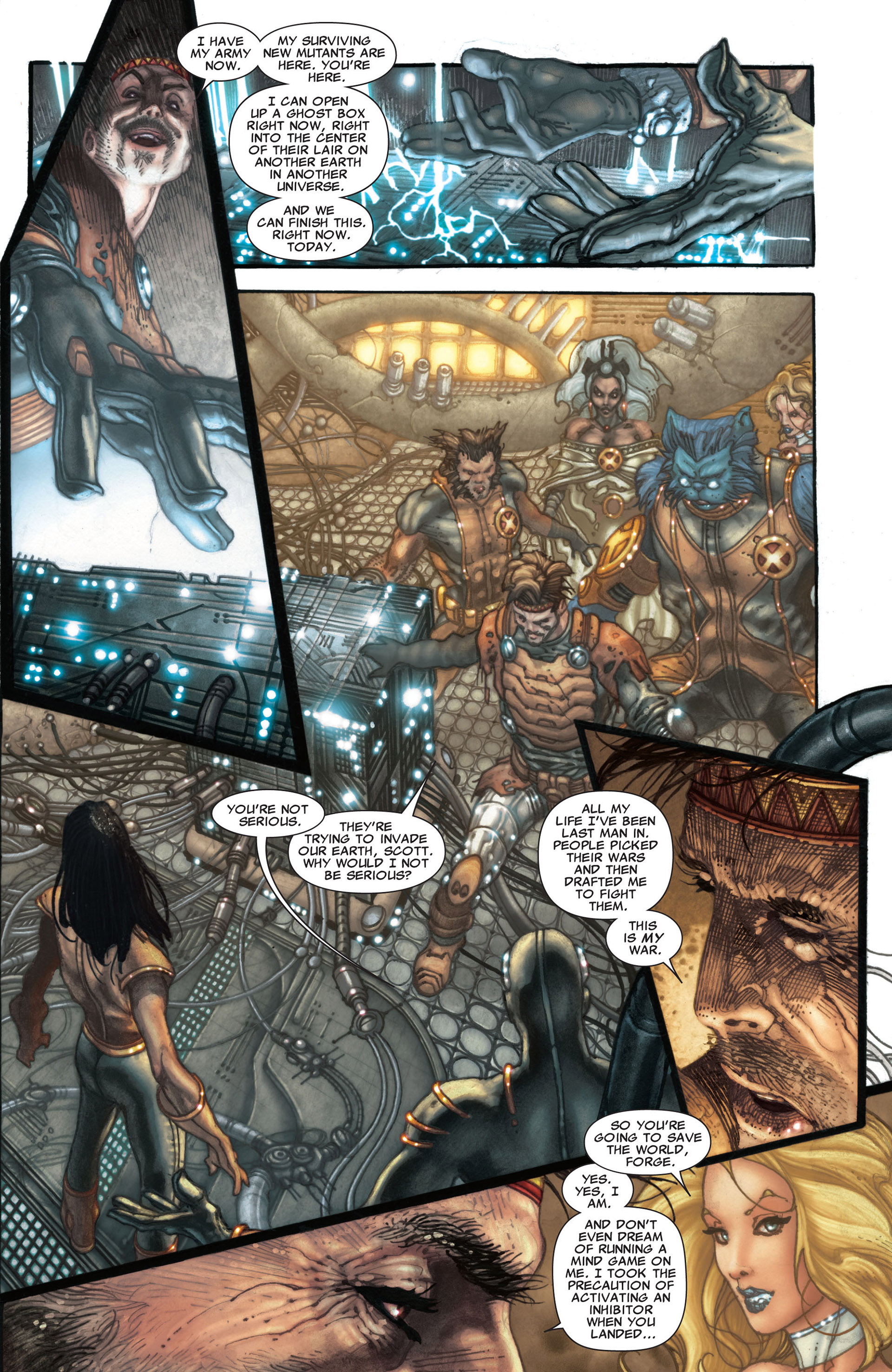 Read online Astonishing X-Men (2004) comic -  Issue #30 - 9