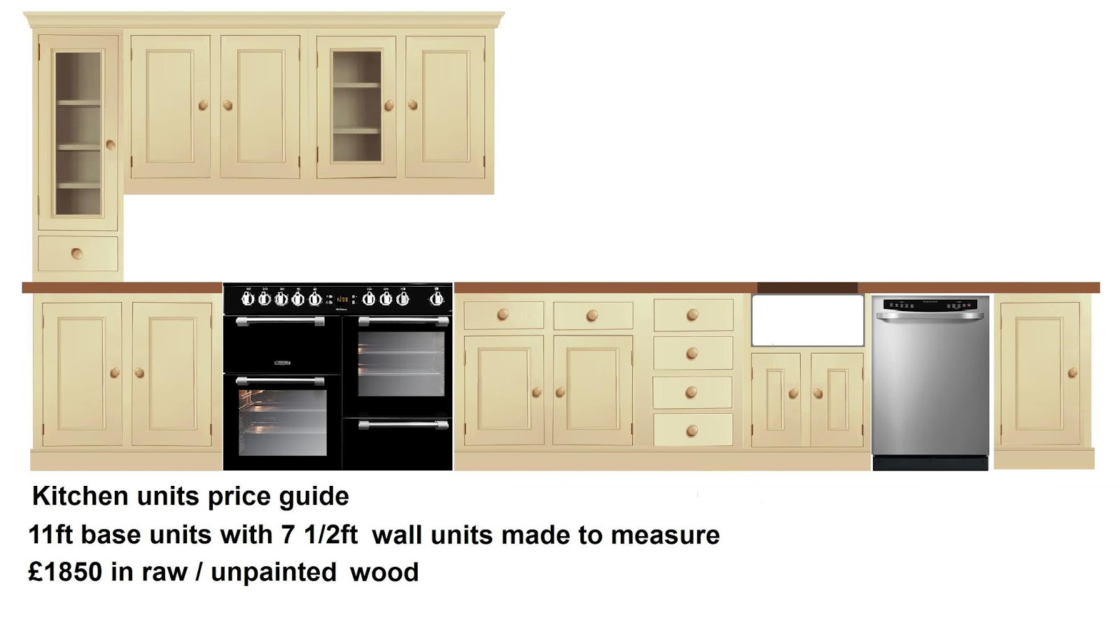 Kitchen units made to measure | Pegasus Pine