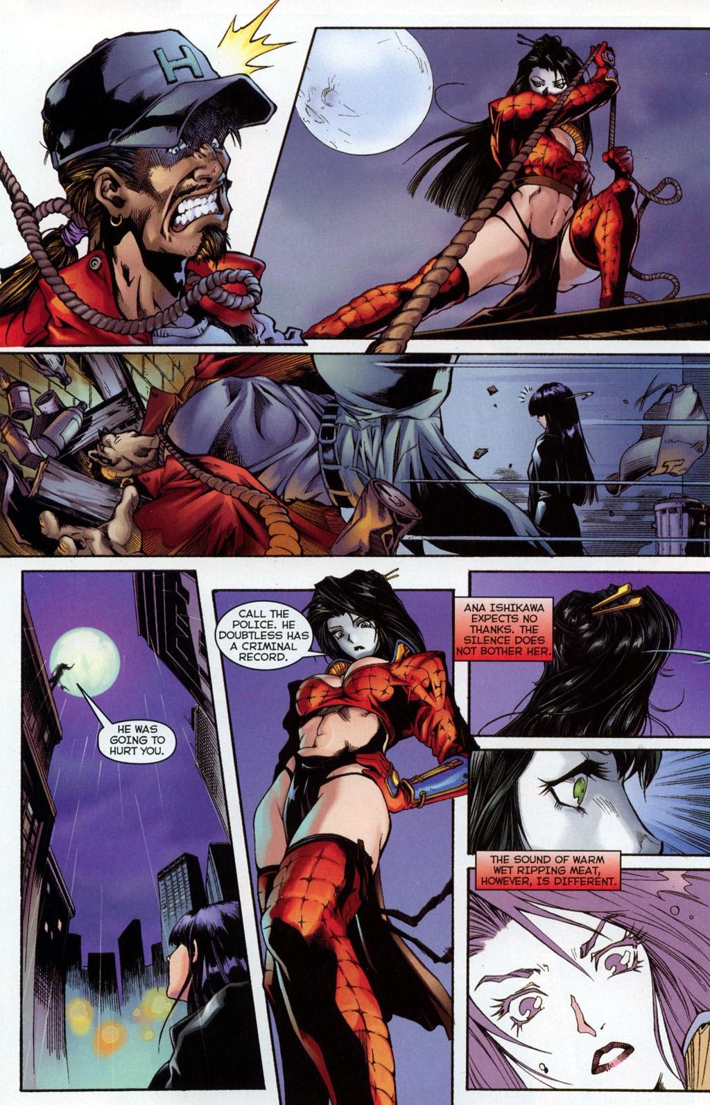 Shi/Vampirella issue Full - Page 9