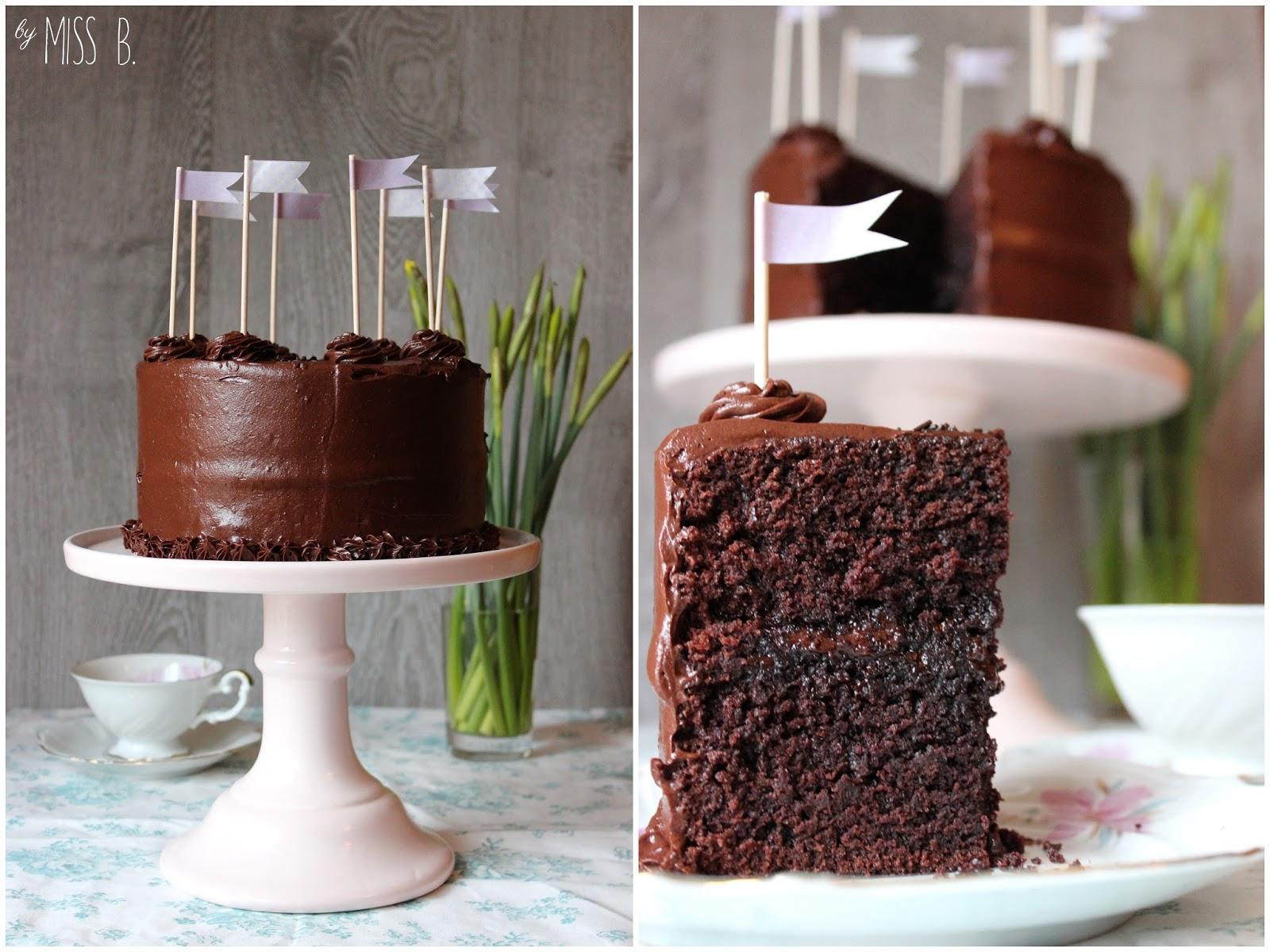 Miss Blueberrymuffin S Kitchen Eine Schokoladen Torte Von Linda