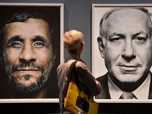 Tổng thống Iran Mahmoud Ahmadinejad và Thủ tướng Israel