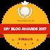 Membuat Applique Dengan Bantuan Lem, Menjadi Juara Kedua DIY Blog Awards