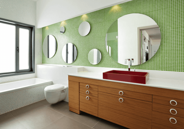 Mirror in Bathrooom Ideas - Mix and Match