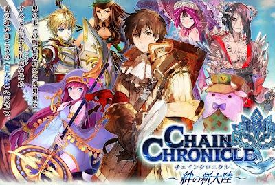 [ Info-Anime ] Game Chain Chronicle Versi Smartphone Akan Segera Rilis