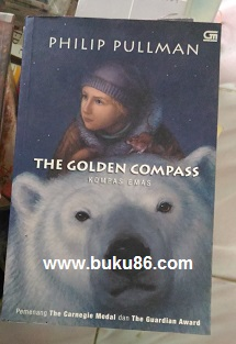 Novel The Golden Compass by Philip Pullman Bekas