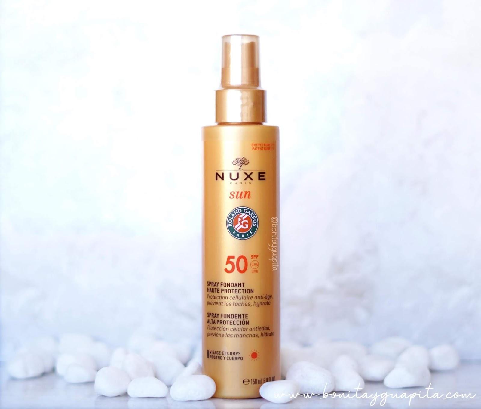 Spray Fundente Alta Protección SPF50 -  Nuxe