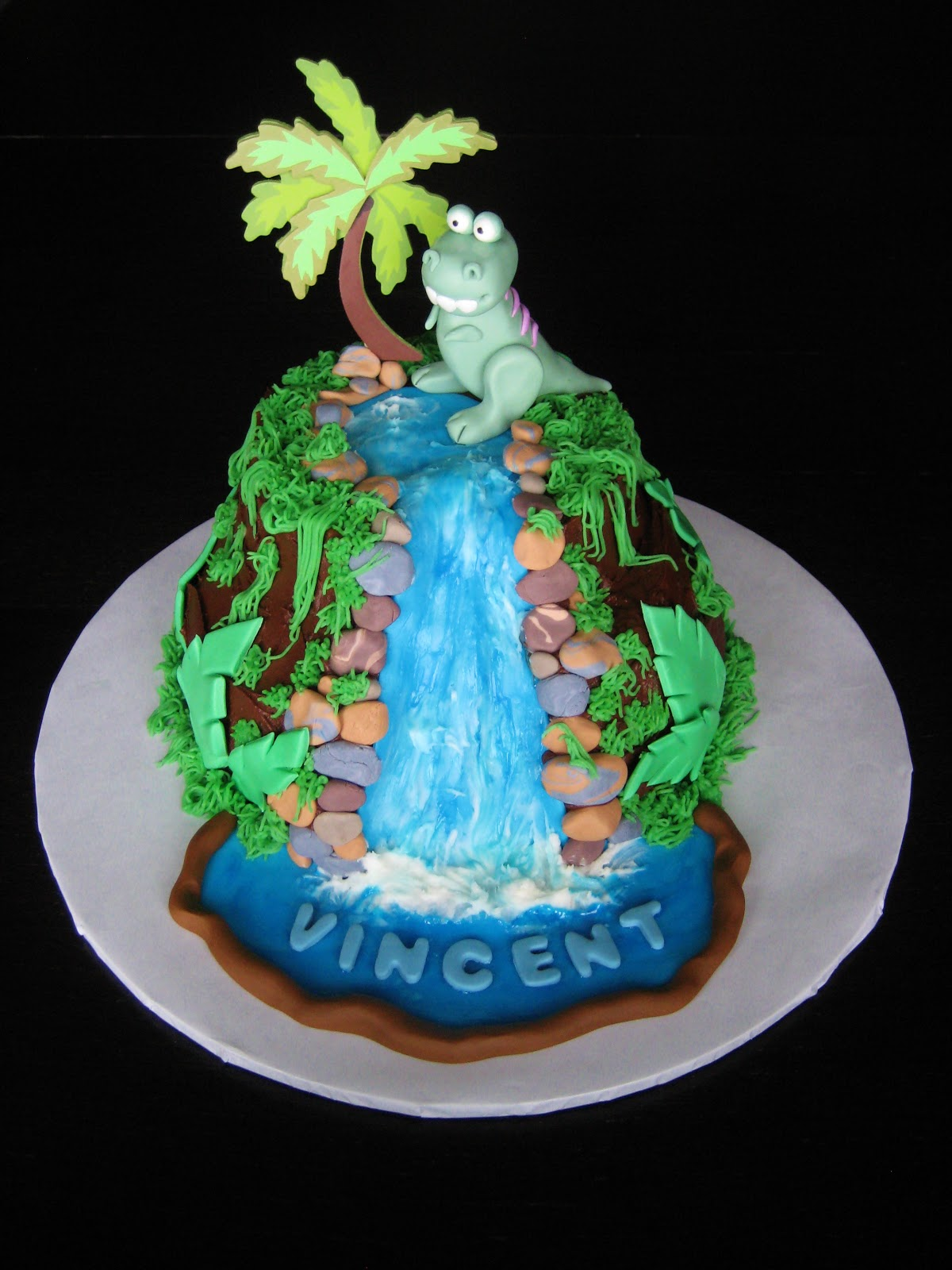 Custom Cakes By Julie Dinosaur Cake Iv