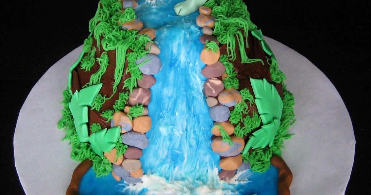 Dinosaur Baby Cake
