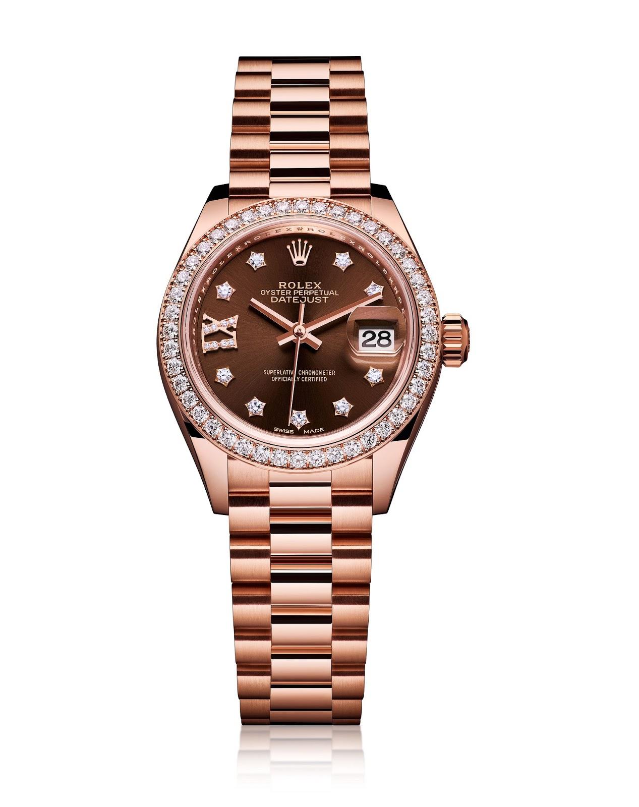 Rose Gold Rolex Diamond Bezel