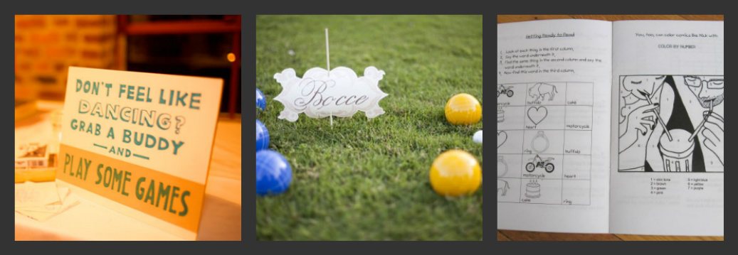Weddings Are Fun Blog: Wedding Reception Games To