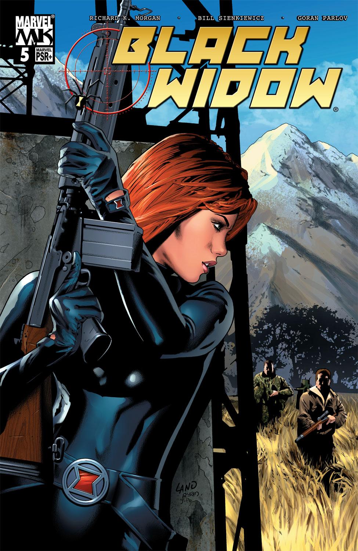 Black Widow (2004) 5 Page 1