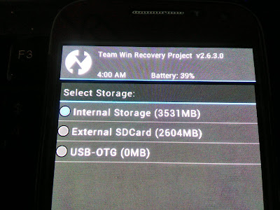 Recovery Mode TWRP