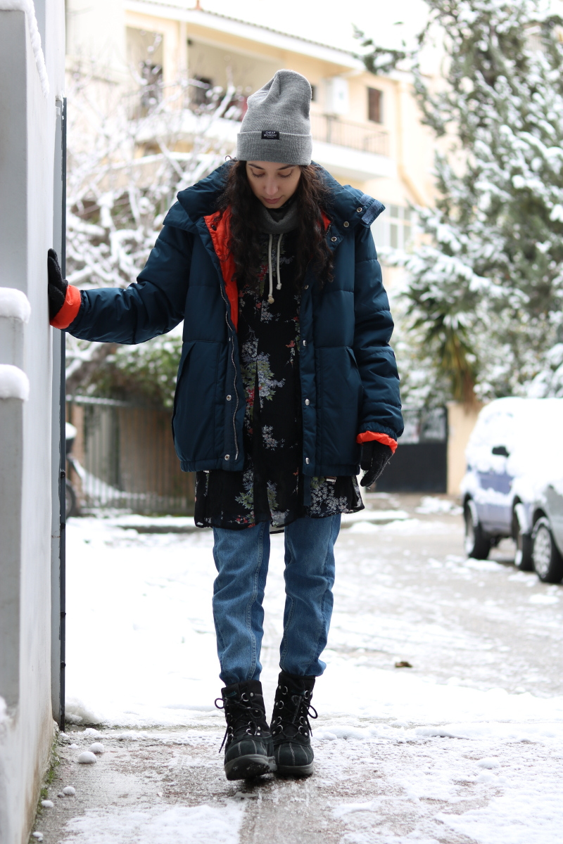 Winter Layering and the Puffer Jacket