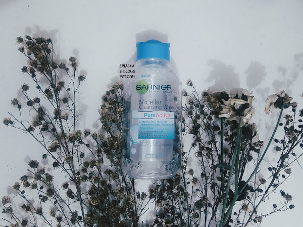 REVIEW: Garnier Micellar Cleansing Water Pure Active (Blue)