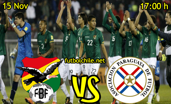Ver stream hd youtube facebook movil android ios iphone table ipad windows mac linux resultado en vivo, online: Bolivia vs Paraguay