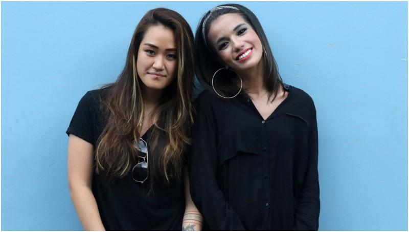 Pasangan artis sejenis, Sheila Marcia dan Melodya Vanesha