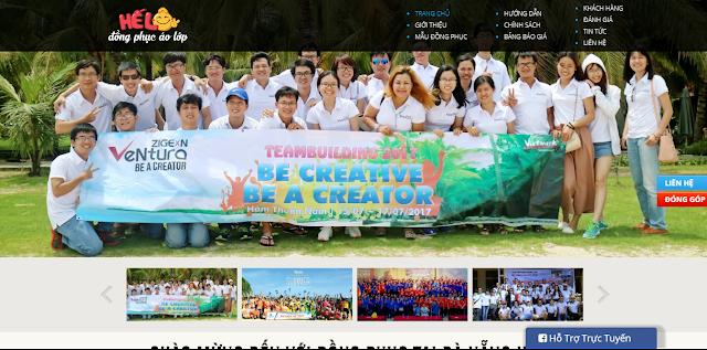 Bạn thấy website mới của đồng phục Hế Lô thế nào?