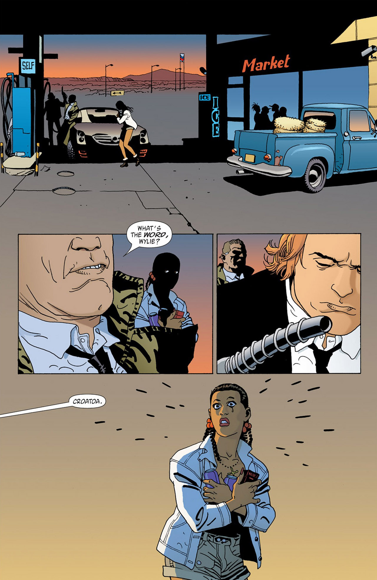 Read online 100 Bullets comic -  Issue #58 - 15