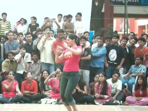 Telugu public exposing dance show - 5 3