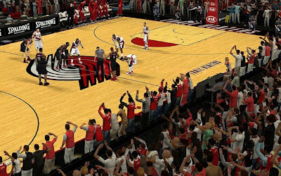NBA 2K13 Portland Trail Blazers Crowd Fix Patch