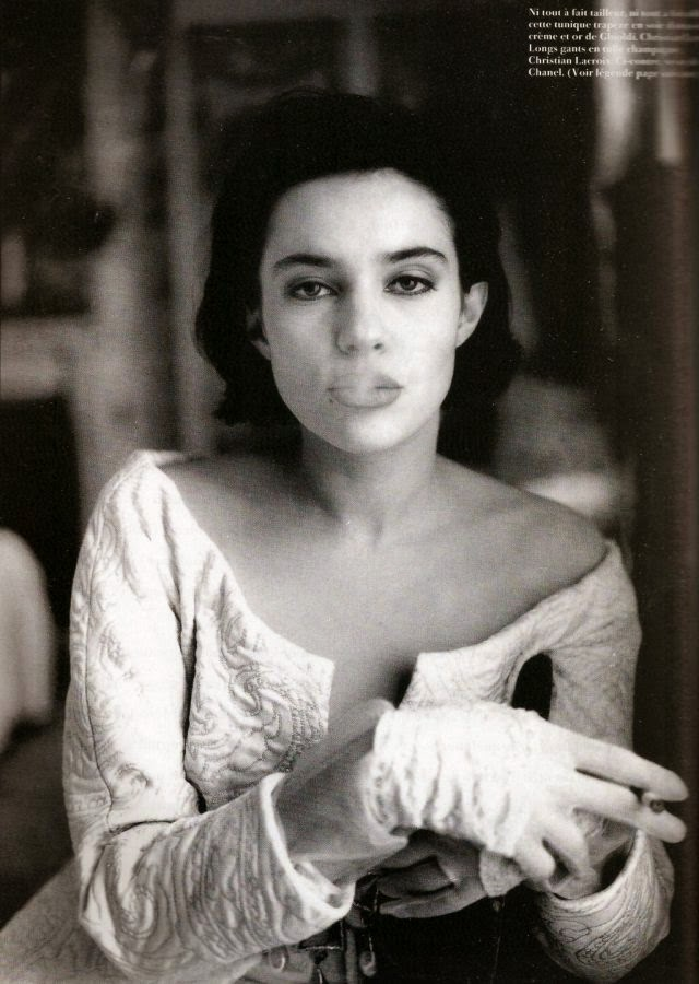 Beatrice Dalle by Peter Lindbergh for Vogue France (March 1989) | Ses Rêveries