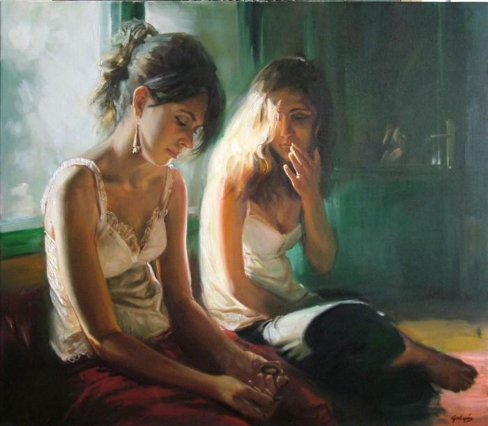 Laszlo Gulyas. Современный венгерский художник 15