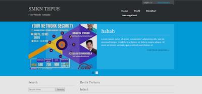 Download Source code  website sekolah menggunakan php dan mysql