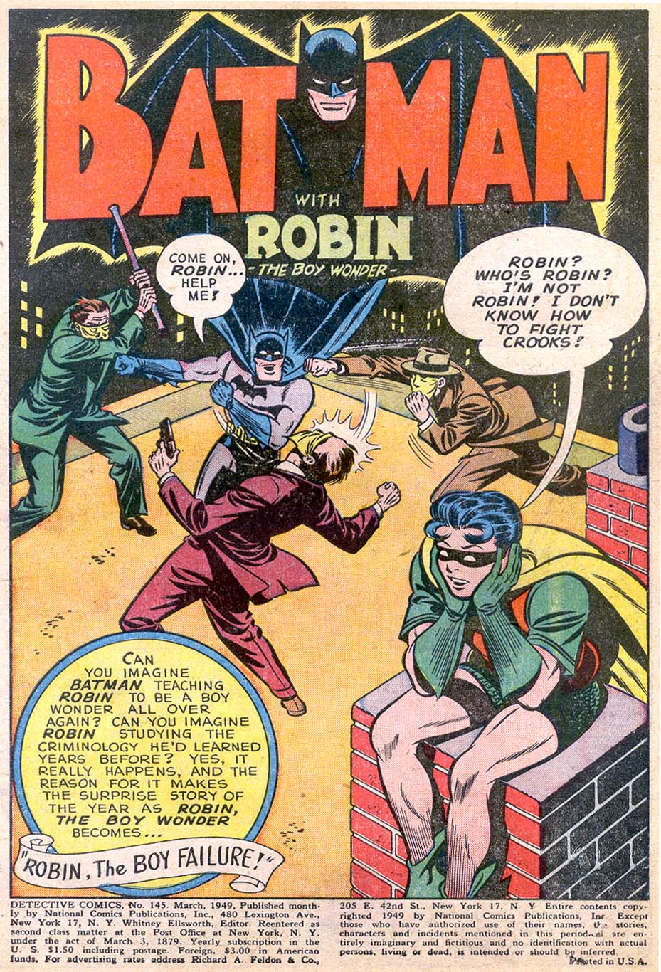 Detective Comics (1937) 145 Page 2