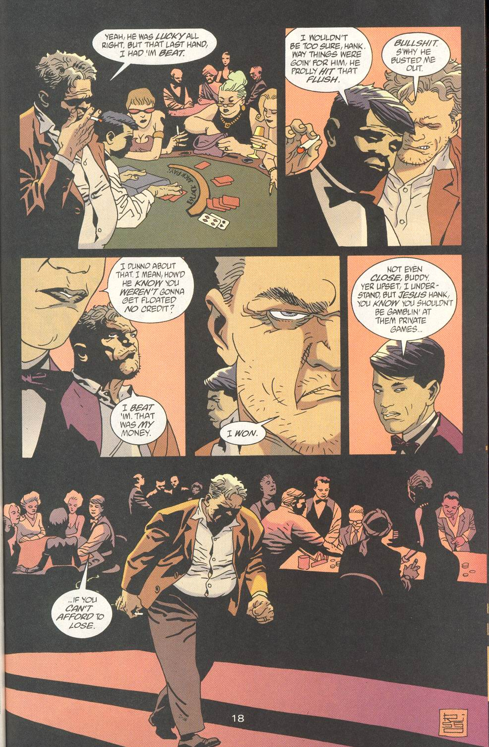 Read online 100 Bullets comic -  Issue #23 - 20
