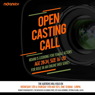 nollywood acting auditions 2015