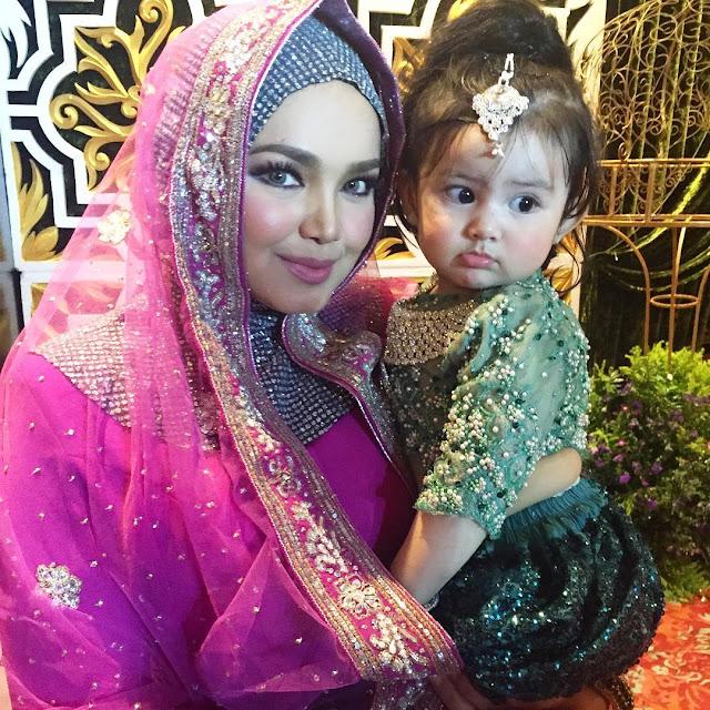 Foto Comel Aaisyah Dhia Rana di Majlis Resepsi Pereka Fesyen, Ruzaini dan Isteri
