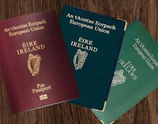 Pasaporte Irlandes con selfie