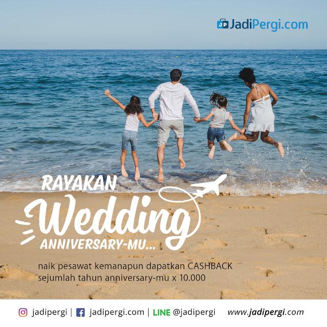 Promo Cashback Wedding Anniversary