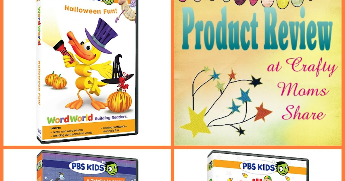 Pbs Kids Halloween Dvd.Crafty Moms Share Pbs Kids Halloween Dvds Review