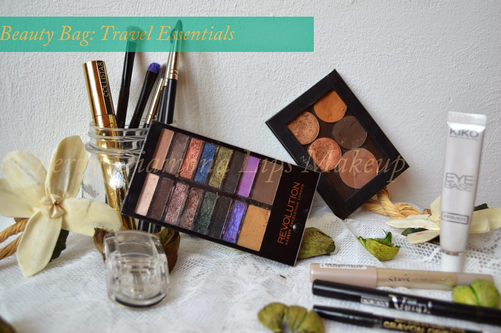 Summer Beauty Bag, Makeup Revolution, Lock&load, Liberty Six, Nabla Comsetics, Rust, Glitz, Caramel, Camelot, Infinity Eyeshadow, Kiko, 204, Hakuro, Eye Base Kiko, Essence, Maybelline, The Browliner, Dolce&Gabbana, Pupa