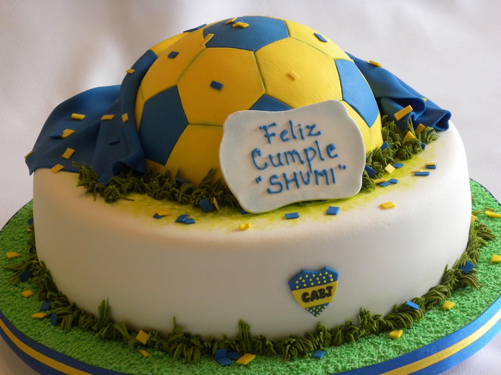 De Pelota Futbol Torta De