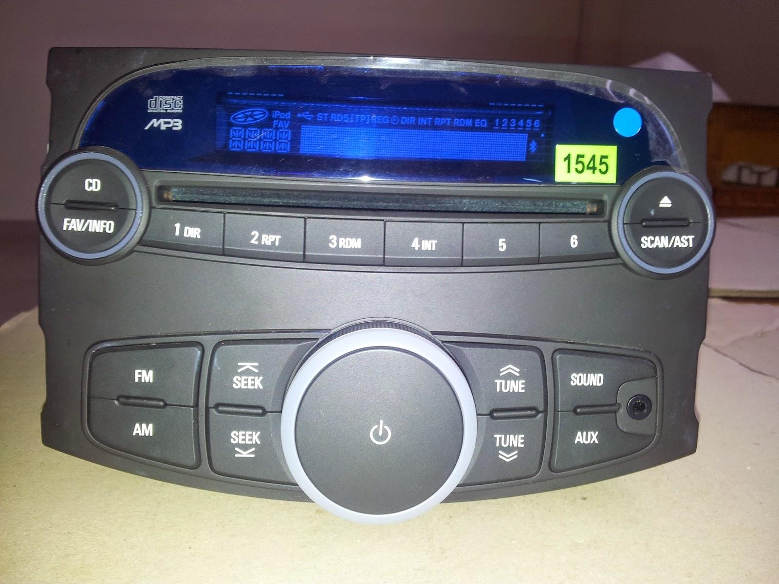 Đầu CD cho xe oto Matiz Groove chính hãng GM