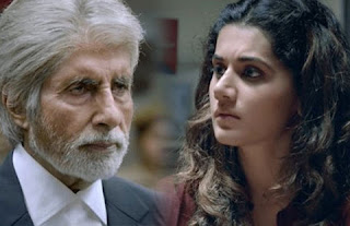 Amitabh Bachchan & Taapsee Pannu in PINK
