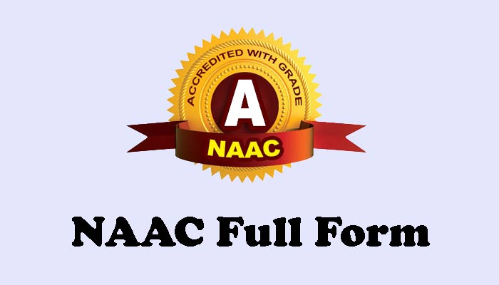 NAAC Full Form in Hindi
