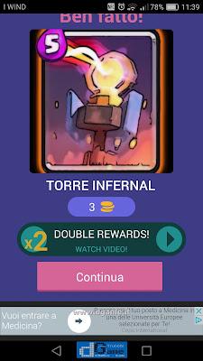 Indovina la carta Royale soluzione livello 61