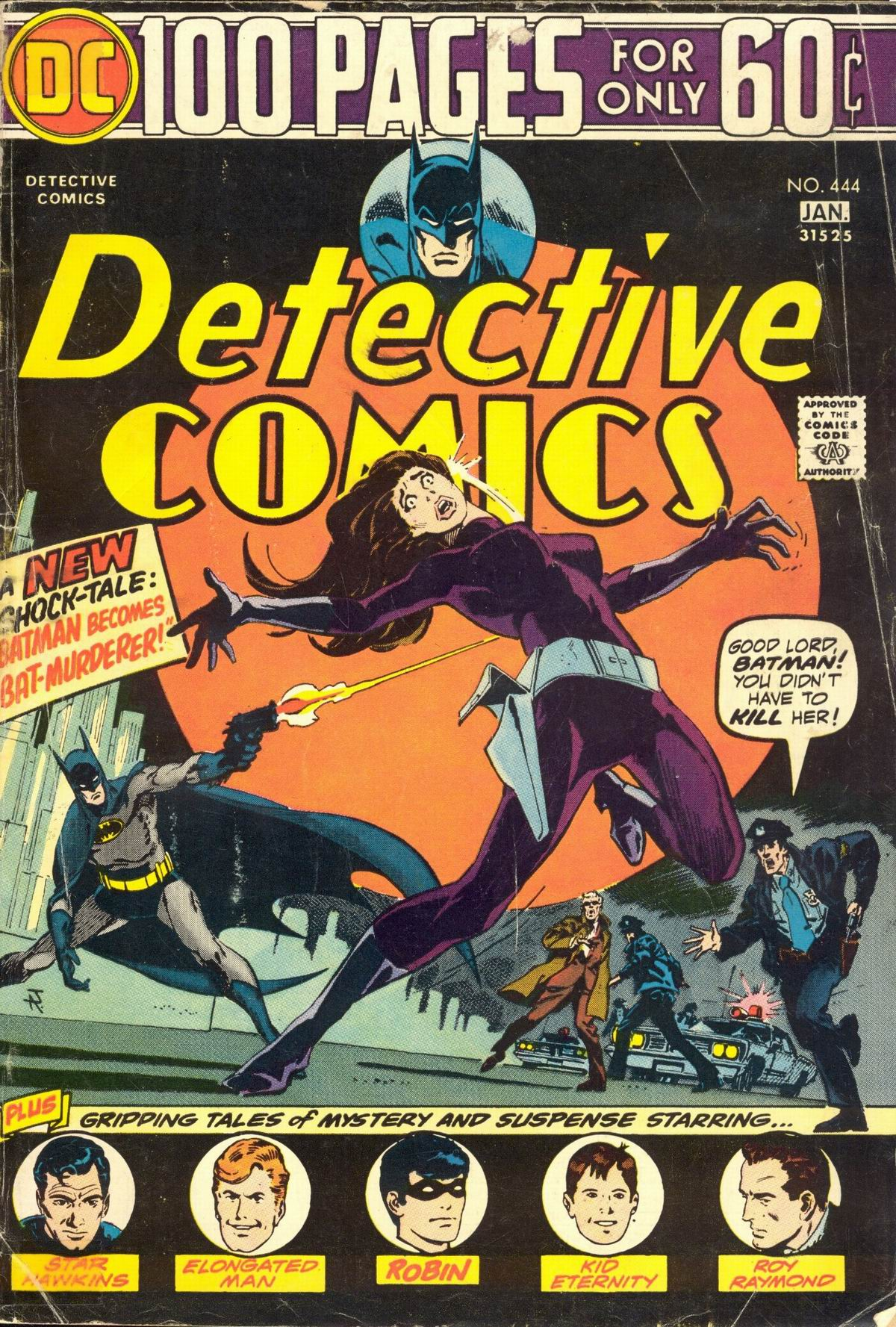 Detective Comics (1937) 444 Page 0