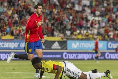 Morata Selamatkan Muka Spanyol dari Kekalahan