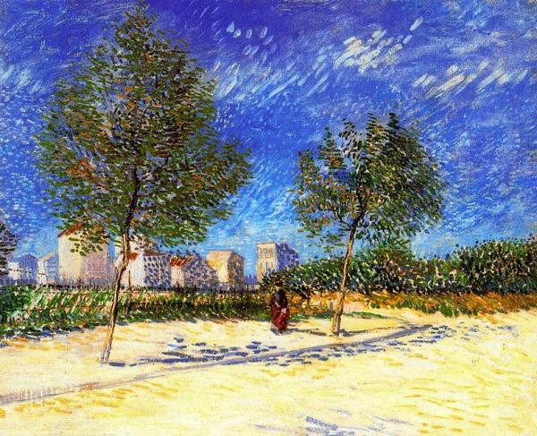Als afores de París (Vincent Van Gogh)