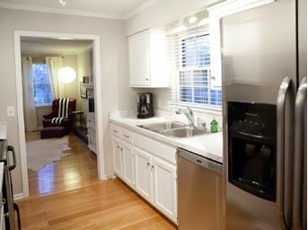 A mi manera decorar una cocina peque a de forma sorprendente - Decorar cocina pequena ...