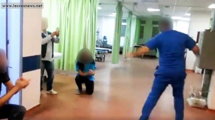 Σάλος για το γλέντι στα επείγοντα του νοσοκομείου Μυτιλήνης! (Βίντεο)